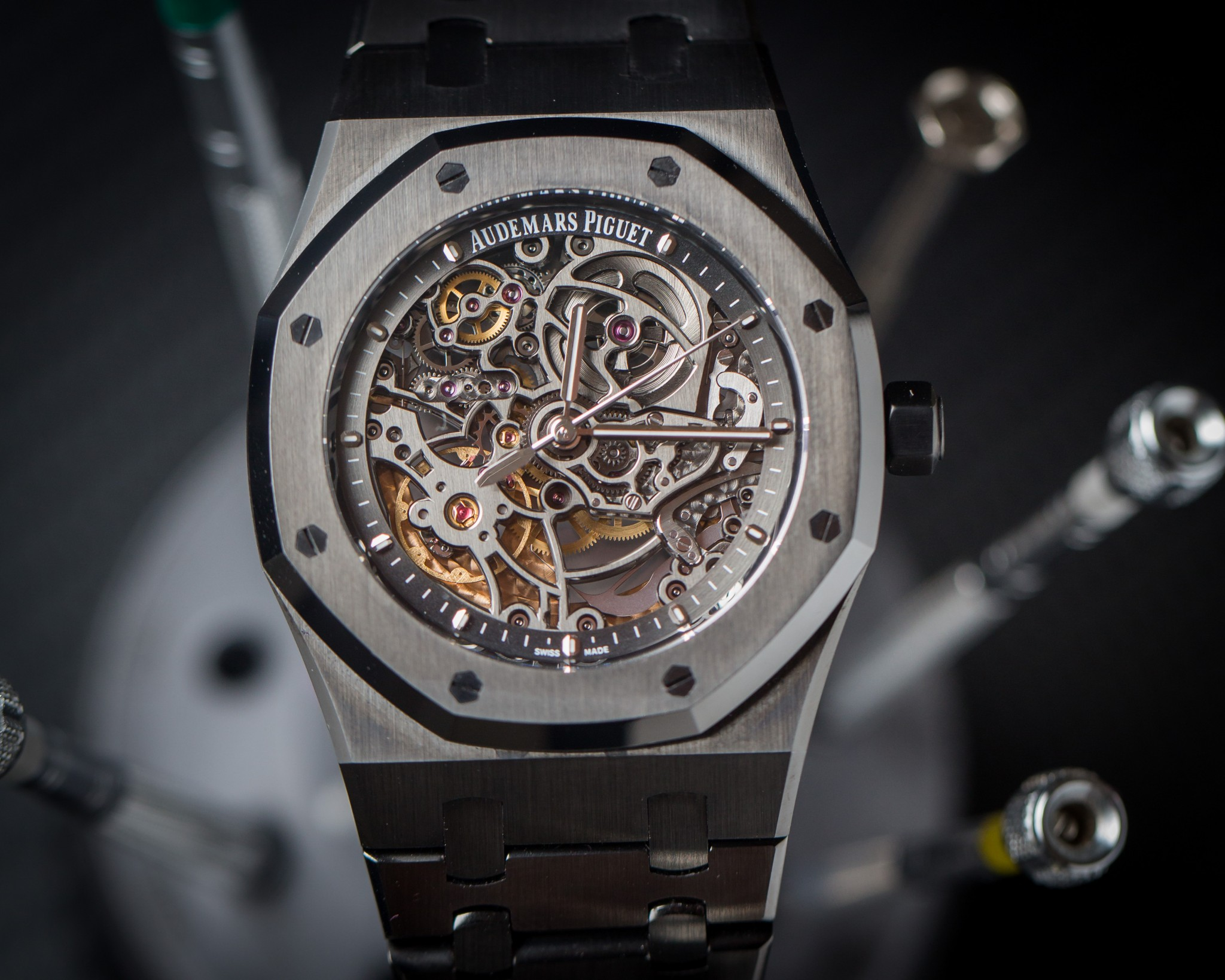 Audemars Piguet Royal Oak Skeleton Titan Black
